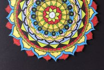 Julie Mariner Mandalas / Mandalas by Julie Mariner. All work freehand. Lightfast inks, acid free papers.  / by Julie Mariner