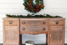 Furniture Makeover / Inspiration for furniture upcycling, makeover, redo, reclaimed, repurposed, recycled, DIY, redesign, upcycled, before and after, transformed, painted furniture. Transform your thrift store and garage dale furniture