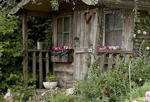 Cottage garden beauty. / The best of cottage gardens.  / by Julie Mariner