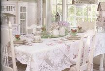 Shabby chic at home. / The best of shabby chic decor, items and accessories. / by Julie Mariner