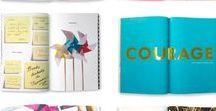 very nice brand book layouts