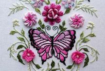 Beautiful Embroidery. / Stunning hand embroideries. From cross stitch to candlewicking, these works of art are exquisite.  / by Julie Mariner