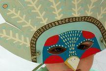 Art & Craft | Masks / by Sarah Wagner