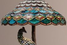 Tiffany lamps and lighting. / Tiffany and Tiffany style lamps. I just love them.  / by Julie Mariner