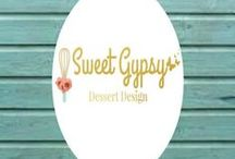 Sweet Gypsy Dessert Designs / Here is my beloved collection of sugar art available on etsy!