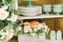 Spring Rustic Farmhouse Decor / Rustic farmhouse style spring decor to decorate your home in style. Diy, printables and other decorating ideas