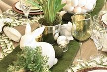 Easter Rustic Farmhouse Decor / Add rustic farmhouse style to your Easter decor. Diy, printables and other decorating ideas