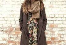 Fall + Winter / Layers, sweaters, coats, boots, hats, and rich colors to make your #ootd better.