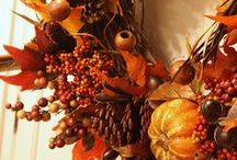 """Thank-Fall ~ Decor & More / There is a time for everything, and a season for every purpose under heaven:  Ecc. 3   / by Rachael Powell - """"MyssP"""""""