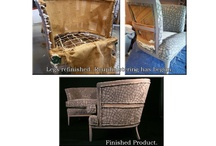 Calvin Redux / Fabulous finds made modern through restoration and reupholstery with Calvin Fabrics - the before & afters.