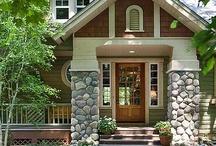 Shut the Front Door  / Beautiful Exteriors - Entrances / Garages / Walkways