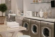 Do LauNDry with ME / Laundry Day -- Laundry Rooms, storage and etc.....