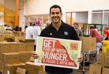 Get Fed Up with Hunger / Find out ways to get involved in the fight to end hunger.