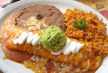 Menu ~ Mexican Dishes