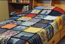 T-shirt Quilt Ideas / by Pam Douglass