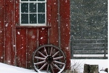 A Red Farmhouse / by things here lately...