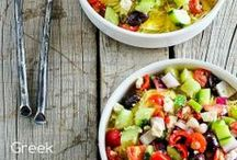 Food-Salads & Sandwiches / by Pam Douglass