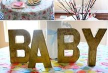 """Baby Shower / Just ideas for t""""one day."""" / by Unica Olmos"""