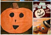 Halloween - crafts/food / by Annie Hopp