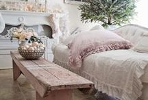 A Shabby  Lil' Christmas ~ Pinks