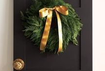 "Christmas ~ Burlap ~  Bling ~  Black    / Decor for My Christmas Home .....  / by Rachael Powell - ""MyssP"""