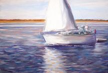 Oil Paintings / Oil Paintings from my portfolio at http://www.jenniferlycke.com  / by Jennifer Lycke, Artist and Photographer