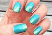 Beauty - Manicures and Nail Art / Simple but effective Nail Art designs suitable for at-home enthusiasts or beginner Nail Techs