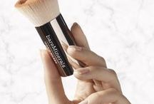 Complexion /   Primers, concealers, and brushes, oh my! At bareMinerals, we're all about your face. From helping you find the perfect foundation with SPF, to teaching the best tips and tricks for our award-winning, good-for-you mineral makeup, we've got you covered. bareminerals.com