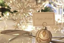 Christmas ~ ShiMMeR / Christmas Silvers, Golds & Ivory  ~ Rich sparkling colors...