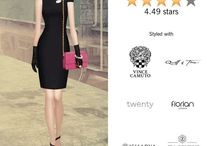 Covet Fashion ensembles / Here are the ensemble I style for the various challenges in the Covet Fashion app.
