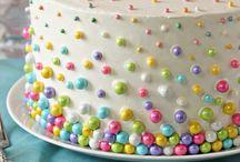 PARTY / cakes, pinatas, and balloons / by Rhonda Williams Hanson