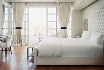 Blissful Bedrooms / Bedrooms that are the perfect getaways.