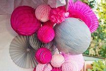 Pink Partys ~ Roze feestjes / Als voor #roze #kinderfeestjes.