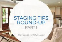 Home Staging Ideas / home staging, staging a home, selling a home, real estate marketing