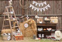 Cowboy Party ~ Cowboy feestje / Leuke ideeën om #feestjes te vieren helemaal in een #cowboy en #western stijl.