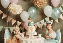 Tea Party / ...the epitome of party themes IMHO / by Rhonda Williams Hanson