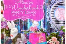 Alice in wonderland party ~ Alice in wonderland feestje / De leukste ideeën voor feestjes in Alice in Wonderland stijl. #aliceinwonderland #kinderfeestje