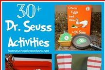 Dr. Seuss Fun / Collection of ideas to use for a Dr. Seuss unit #elementary #education / by Homeschool Creations