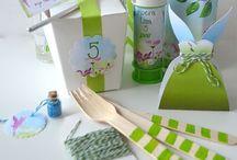 Fairy party - Elfjes feest / Leuke ideeën voor #kinderfeestje in #elf of #Tinkerbell stijl.