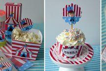 Circus party ~ Circus feestje / Ideeën voor de leukste #kinderfeestjes in #circus stijl.