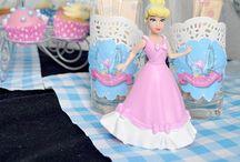 Cinderella party ~ Assepoester feestje / Leuke ideeën voor feestjes in #Assepoester stijl. #kinderfeestje