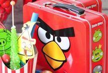 Angry birds party / De leukste ideeën voor een #Angry #Birds #feestje.