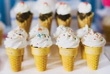 Ice cream party ~ IJsjes feest / Leuke ideeën om feestje te vieren in ijsjes thema