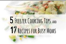 Freezer Cooking Recipes and Tips