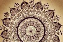 Mandalas / Beautiful, Mesmerizing Mendala Art / by Rhonda Williams Hanson