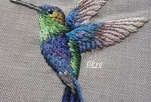 Embroidery | Hand Embroidery / Hand embroidery designs and patterns. All examples of beautiful hand embroidered work. Get hints, tips and tricks to get you through your project. Browse the board to get new ideas for your next project.