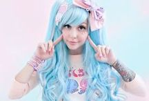 Harakuju / Cosplay / Harakuju / Cosplay is a way to dress up as anime or costumes. Whether it is worn for everyday use or going out to party it's a fun way to spend your day dressed up. Costume party no problem.