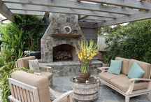 Outdoor Spaces / Inspiration for the yard