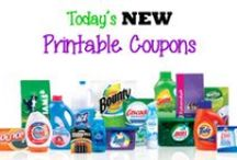 Hot Coupons / See the newest and best printable & digital coupons available! / by A Frugal Home