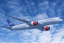 SAS Planes / Planes are beautiful, especially the ones with blue, white and red on them. Take a look at our aircrafts!